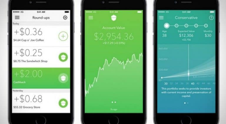 Acorns app helps you invest spare change to boost savings